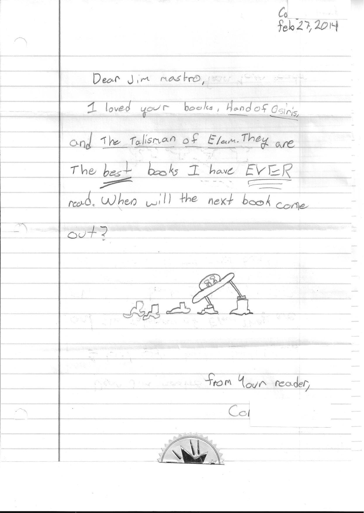 Corbin letter