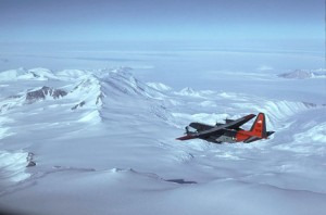 Flying Over the Trans-Antarctic Mountains