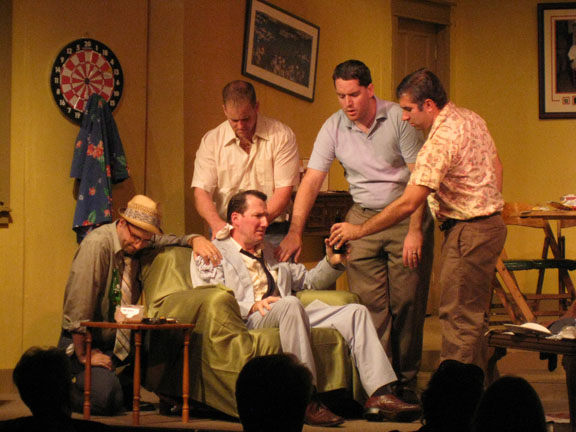 Scene From The Odd Couple, Garrison Players