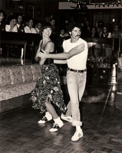 Putting on A Show of Jitterbug Swing