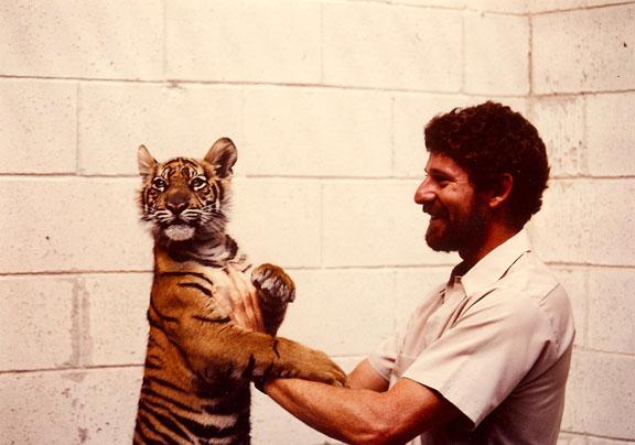 Me and a Tiger Cub