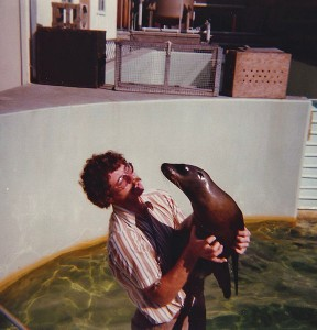 Me with sea lion