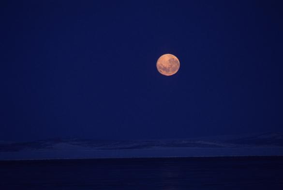 Upside down Moon